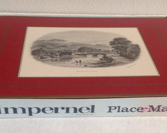 British Heritage Place Mats by Pimpernel North Wales Series