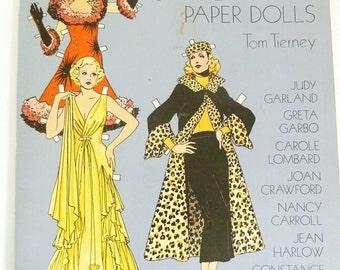 Glamorours Movie Stars of the Thirties Paper Dolls