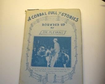 A Corral full of Stories, Joe Evans