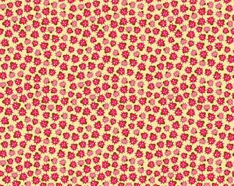 Ladybug Garden - Ladybug Dance in Yellow by Doodlebug Designs for Riley Blake Fabrics