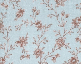 Lario - Garden Vines in Lake Mist Stone by 3 Sisters for Moda Fabrics- Last Yard