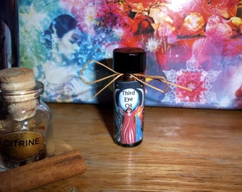 Third Eye Oil for Psychic Ability