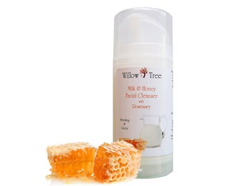 Milk and Honey Facial Cleanser 3.5 oz. - Organic and Natural