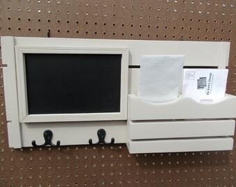 Message Organizer-ChalkBoard -Mail Holder-Mail Organizer-Message Center-Home Decor-Message Board