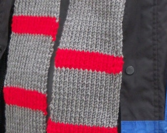 Once Upon a Time Inspired Henry Hand Knitted Scarf - Custom Order