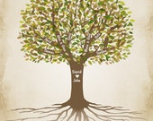 Family Tree, Personalized Family Tree, Grandparents Gift, Custom Family Tree, Anniversary Gift, Genealogy Tree, Gift for Parents, PRINTABLE