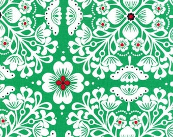 SALE-One Yard from Michael Miller Fabrics- Pippa in Green