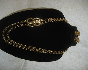FABULOUS MONET DEMIPARURE - Big, Bold, Shiny, Smooth - Make a Statement - Rich Goldtone