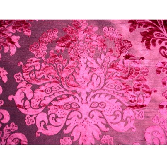 burnout velvet fabric images