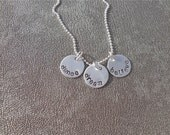Personalized Dance Dream Believe Hand Stamped Necklace - Dance Gift - Gifts for Her - Graduation Gift - Dance Teacher Gift