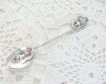 Silver Rolex Demitasse Spoon Lucerne Bucherer Watch Free US Shipping //