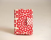 ipad mini cover, ipad mini case, ipad mini Book Cover, - Amy Butler Wallflower, red, ivory