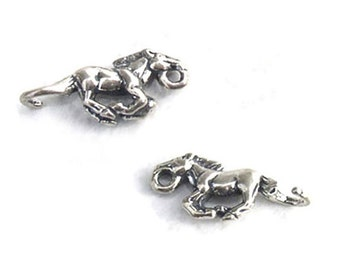 Horse Jewelry Connectors Sterling Silver Links