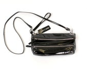 Sale--Patent Leather Cross Body Convertible Clutch- Wristlet