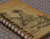 Vintage Book Journal--Das Buch Von San Michele