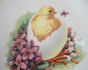 Egg Shaped Easter Serving Plate