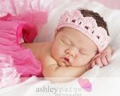Baby TIARA CROWN Girls Headband Newborn 0 3 6 Months