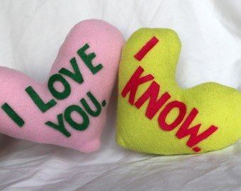 Space Love Pillow Set