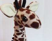 Stuffed Plush Giraffe Safari Jungle Nursery Room Toy