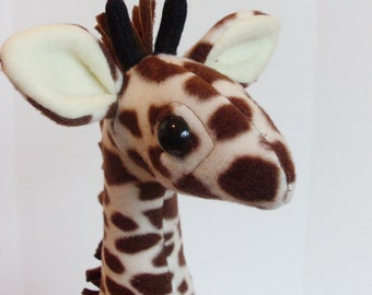 Stuffed Plush Giraffe Safari Jungle Nursery Room Toy