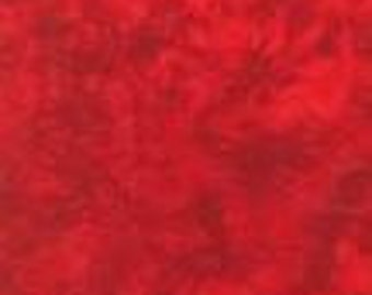 Handspray burnt orange fabric by RJR Fabrics