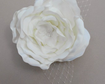 Ivory Rose Bridal Comb