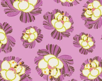 Dreaming in French - Orchid Blooms  DIF-706 - Art Gallery Fabrics by Pat Bravo - 1 Yard