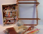 Loom in a Bag, all copper.  Reserved for Art and Soul students