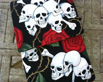 SALE!!! Skulls and Roses Kindle Fire Sleeve