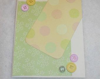 Baby Girl 4 Polka Dots & Daisies