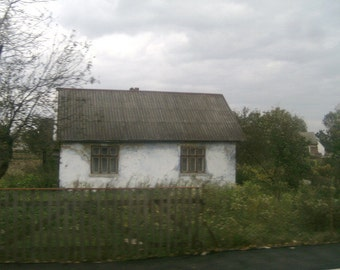 Taken from a moving bus... Ukraine