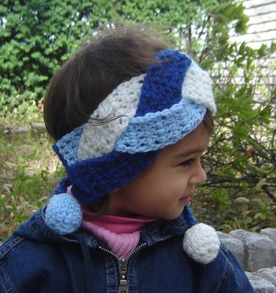Braided Headband PDF DOWNLOADABLE Crochet Pattern No035