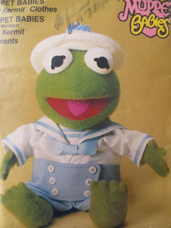 Vintage Vogue 9178 Sewing Pattern Kermit Clothes Muppet