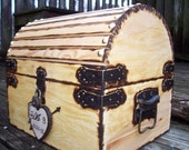 Wedding Card Box with Card Slot and working Padlock