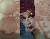 Lucille Ball Beaded Bracelet