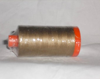 Aurifil Thread 50 wt. Cotton Mako Thread- Sandstone # 2370   Large 1422 yard spool