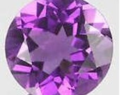 50% OFF LIST PRICE - One - 3mm Round Natural Purple Amethyst Faceted Gemstone