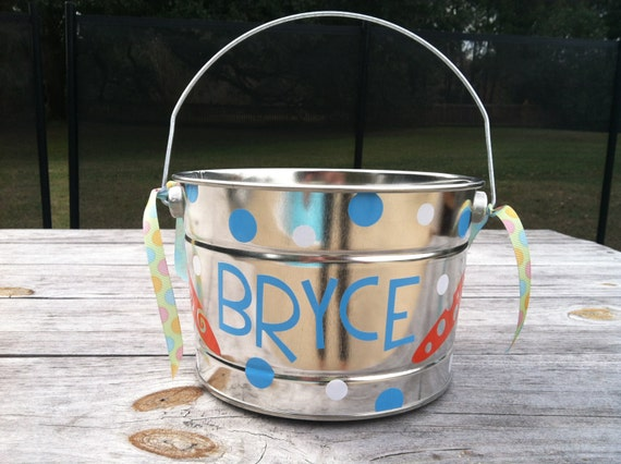 Personalized Easter Bucket or Basket