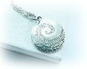 Tiny Surfing charm necklace sterling silver - Sun Fun Surf Charm Necklace Sterling Silver