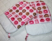 Pretty Pink Pot Holders