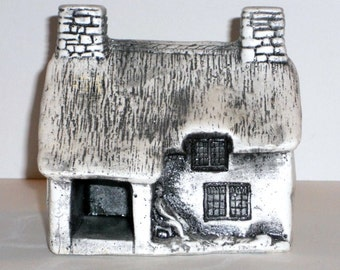 "Cottage ""Stone"" British Vintage Country Charm Home Decor 5x5"