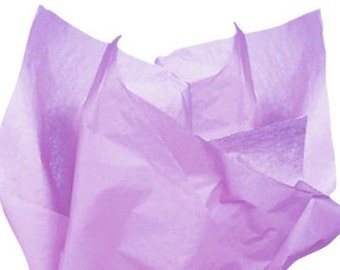 120 sheets of tissue paper -- LAVENDER