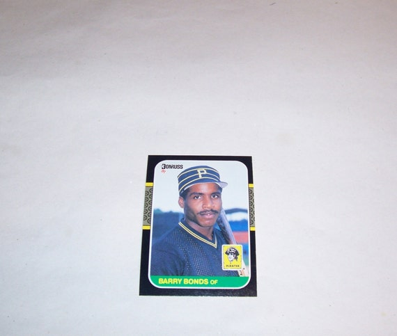 Vintage Donruss Barry Bonds Rookie Card