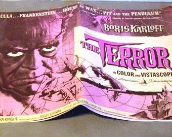 American International Showmanship Manual The Terror Boris Karloff