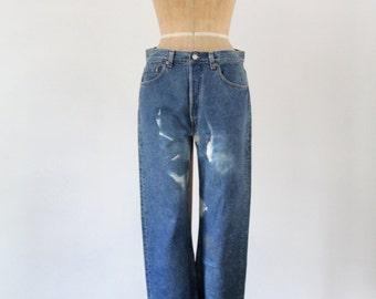 1980s Levi's 501 denim jeans, waist 33