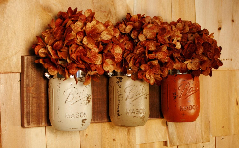 Image result for mason jar fall decor