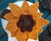 Sunflower headband - Free shipping in US