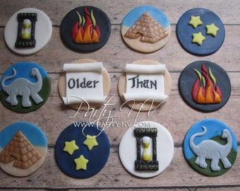 EDIBLE (Fondant Toppers) - Older Than...