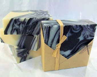 Black Forest Vegan Olive Oil Soap  Bar - Organic Ingredients