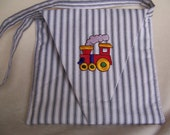 Train Engine Purse for Little Girls, Handcrafted with Love